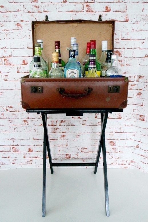 Faux Bar Table