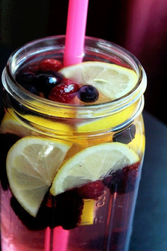 Lemon Berry Flush Fat™ Spa Water