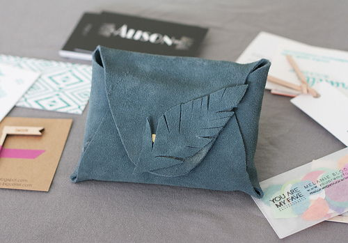 No Sew Leather Pouch
