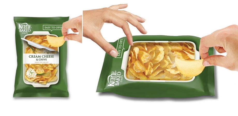 Easy to Open and Share Bag Chips