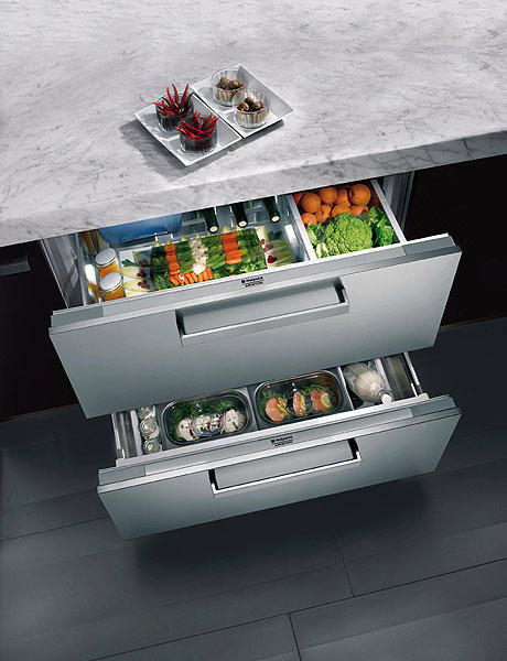 Temperature Controlled Kitchen Drawers