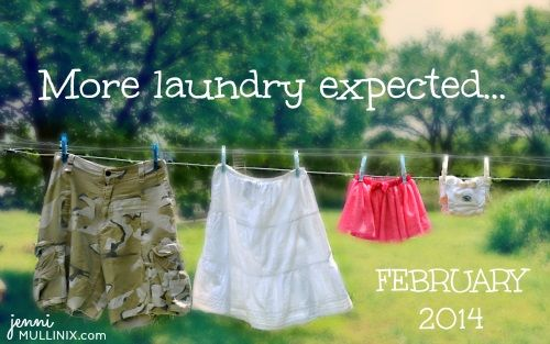 More Laundry Expected...
