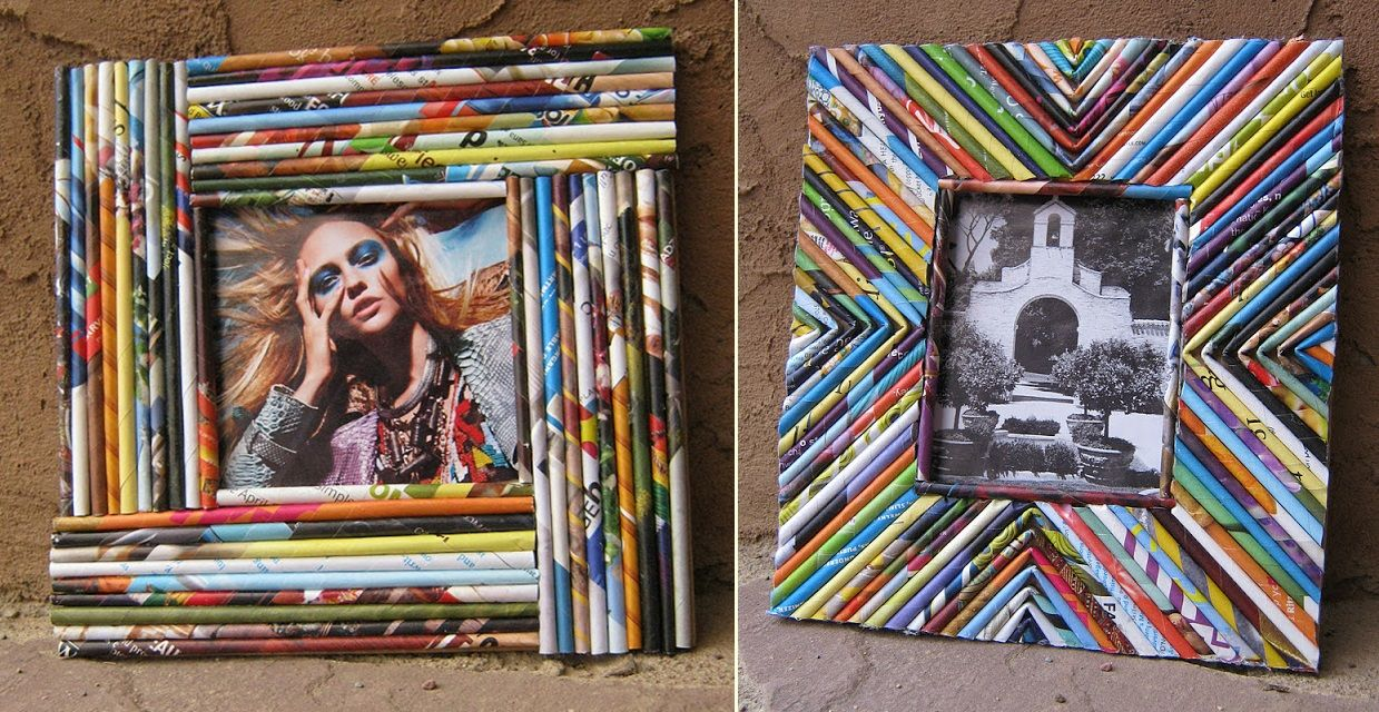 50 Funky Ways to Reuse Old Magazines