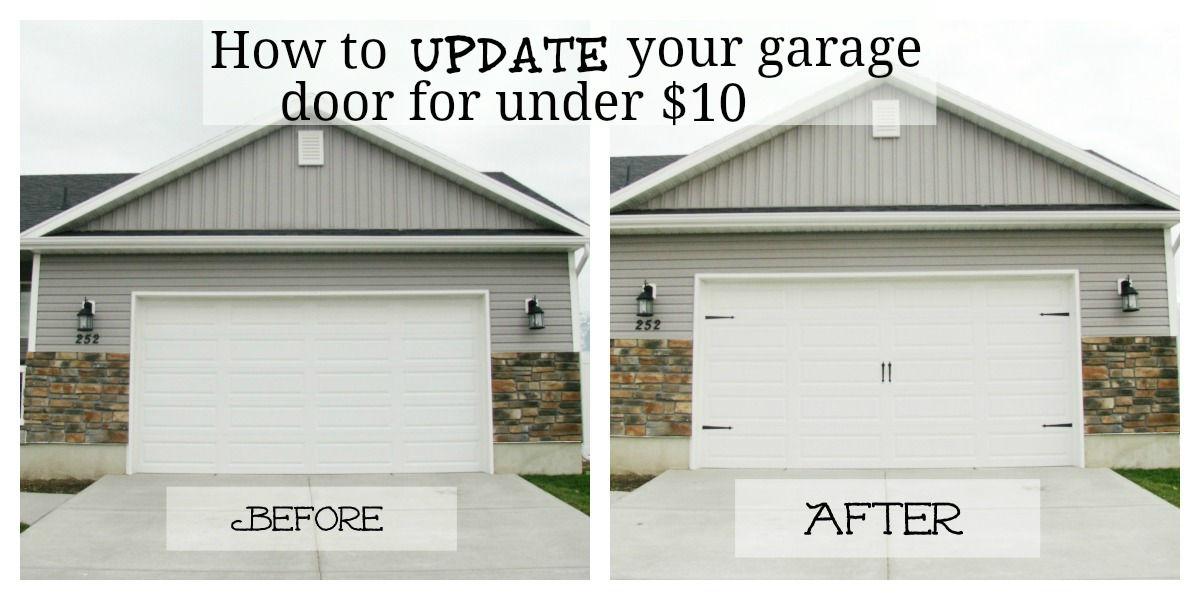 25 Garage Door Makeover