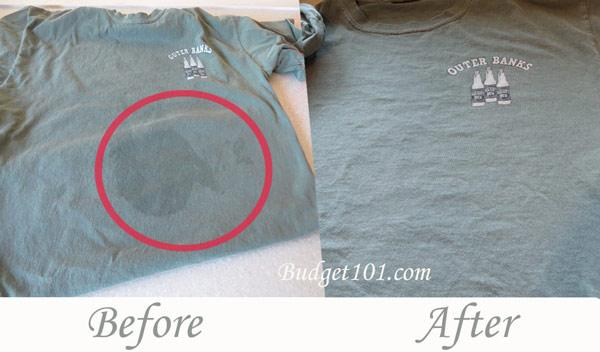 35 awesome hacks for fixing ruined clothes page 3 for How to remove oil stain from t shirt