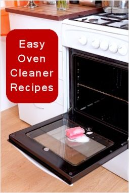 Easy Homemade Oven Cleaner Recipes