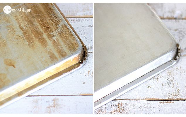 How to Clean Old Cookie Sheets