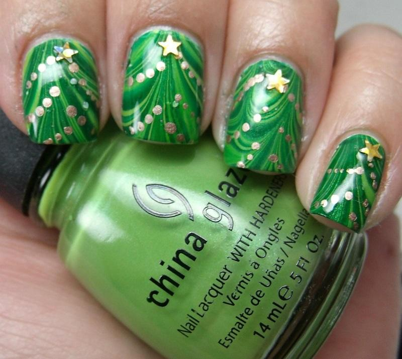 35 Awesomely Cute Christmas Nail Art DIY Ideas – Page 2 ...