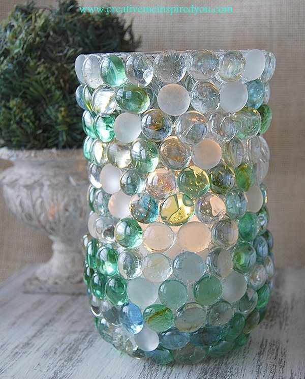 Glass Bead Vase