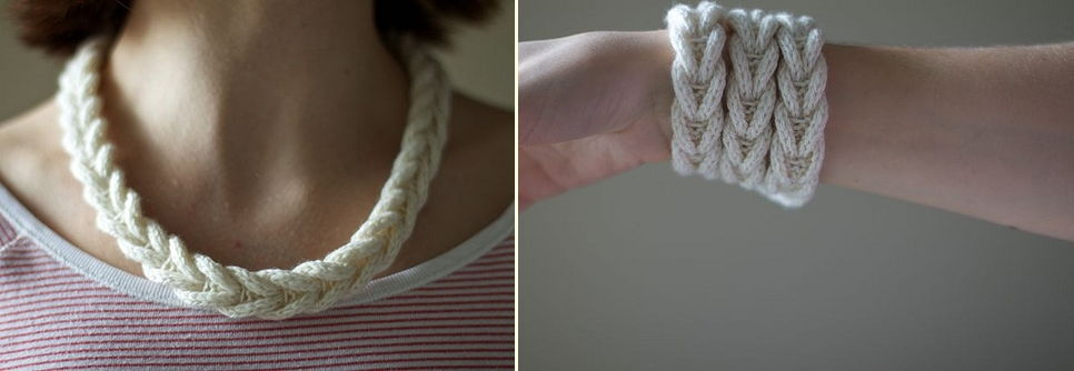 Cable Braided Necklaces