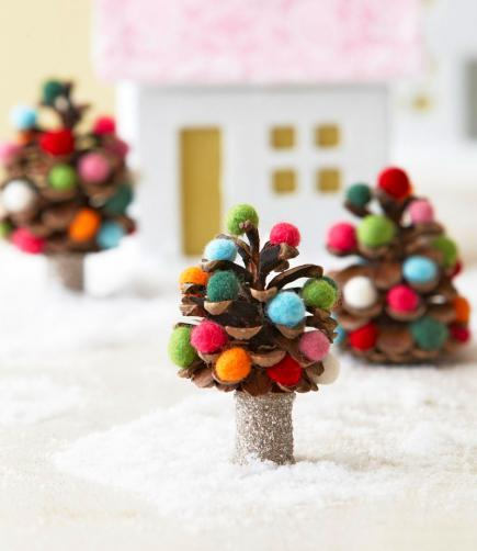 Pinecone Fanciful Tree