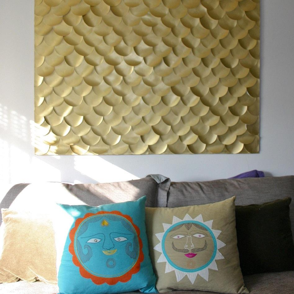 Fish Scale Wall Art