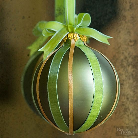 Ribboned Ornament