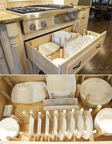 Dish Drawer Organizer