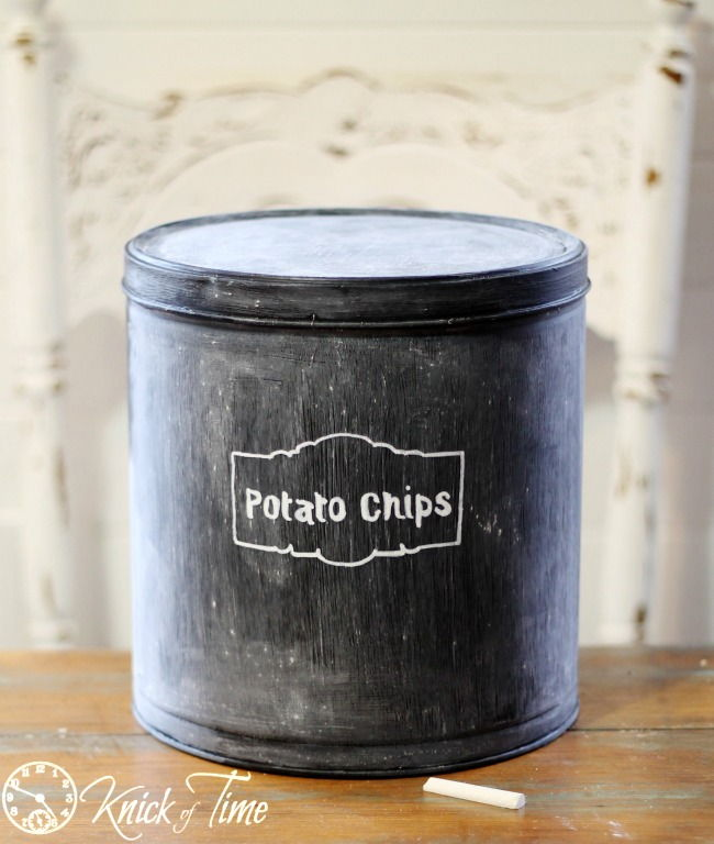 Chalkboard Kitchen Canister