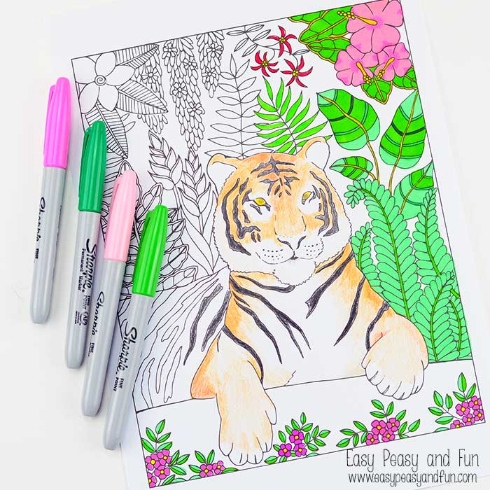 35 FREE Calming, Thoughtful and Relaxing Adult Coloring Pages – Page ...