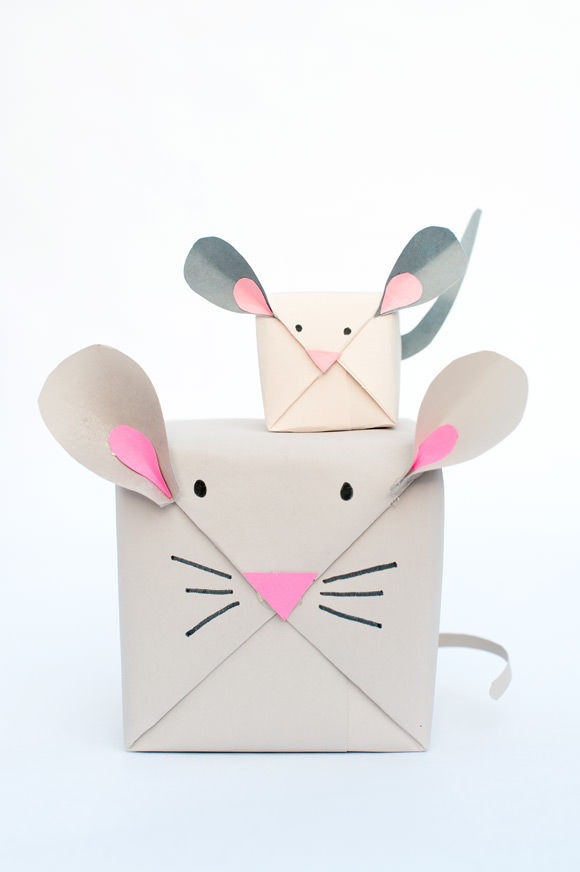 Mouse Gift Wrap