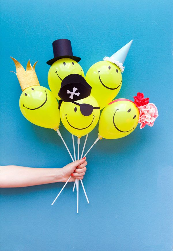 45 brilliant diy balloon project ideas for Diy balloon projects