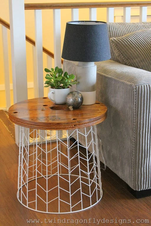 accent table diy accent table tutorial via dragonfly designs