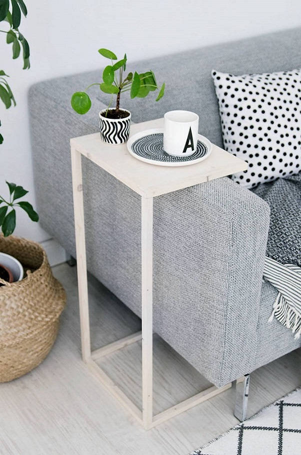 4 Space Saving End Table