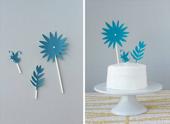 Wallpaper Cake Toppers