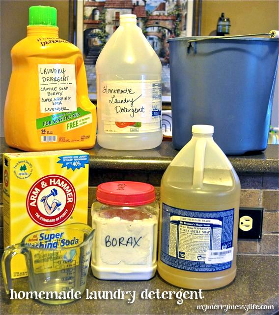 Cheap and Green Homemade Laundry Detergent