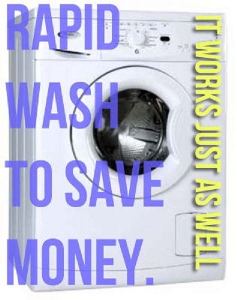 Save Money on Rapid Wash