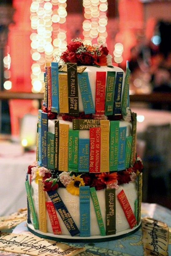 Fantasy and Fiction Wedding Cake