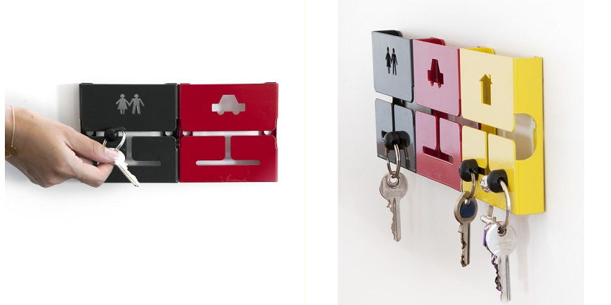 30 Awesome And Creative Key Holder Designs Page 5