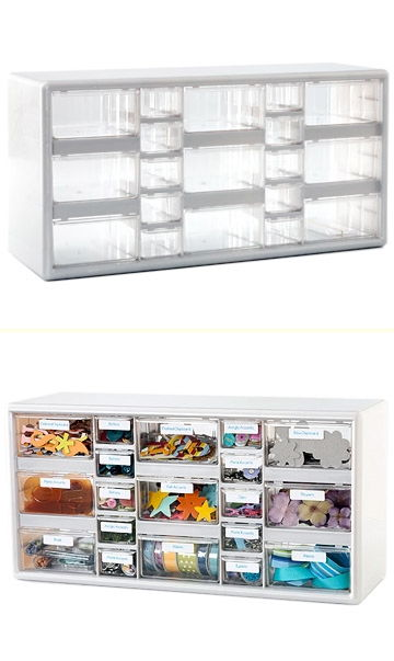 Storage Cabinet Can be Used as Embellishment Center