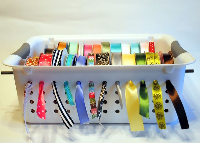 Easy Ribbon Dispenser and Storage
