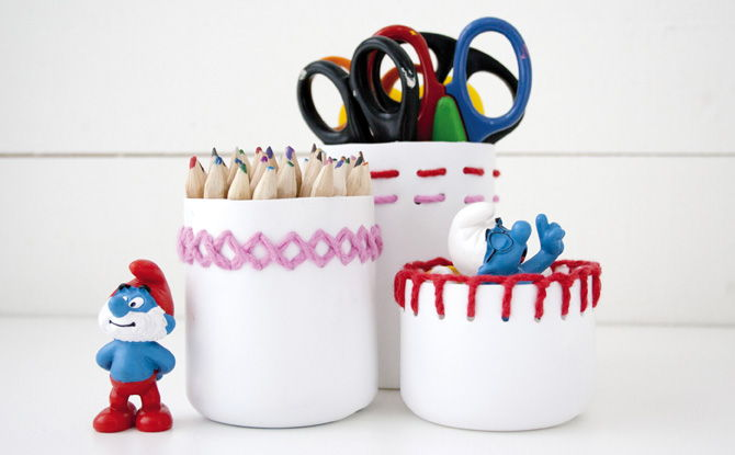 Embroidered Cans Organizer