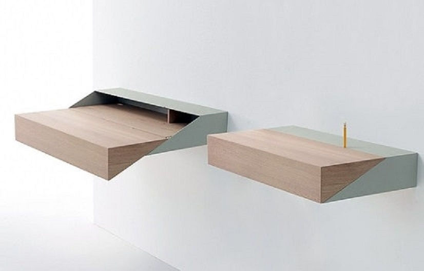 50 diy floating shelves that looks modern and have good storage diy floating desk home27 desk