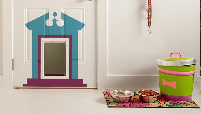 Pet Door Decoration