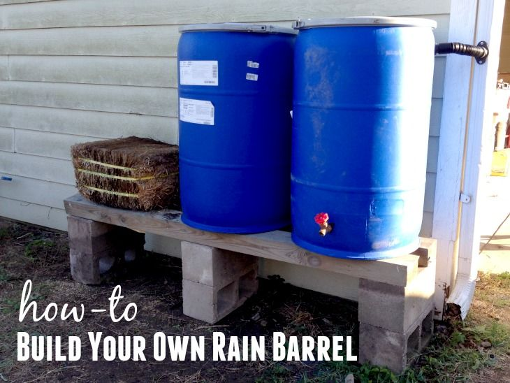 Build a Rain Barrel