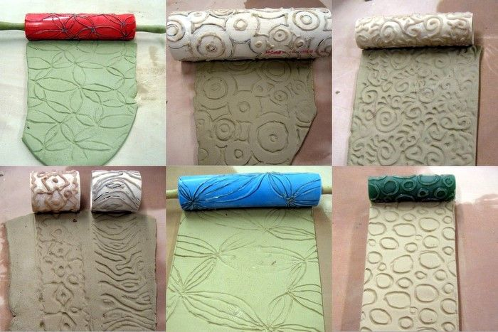Make a Texture Roller for Clay