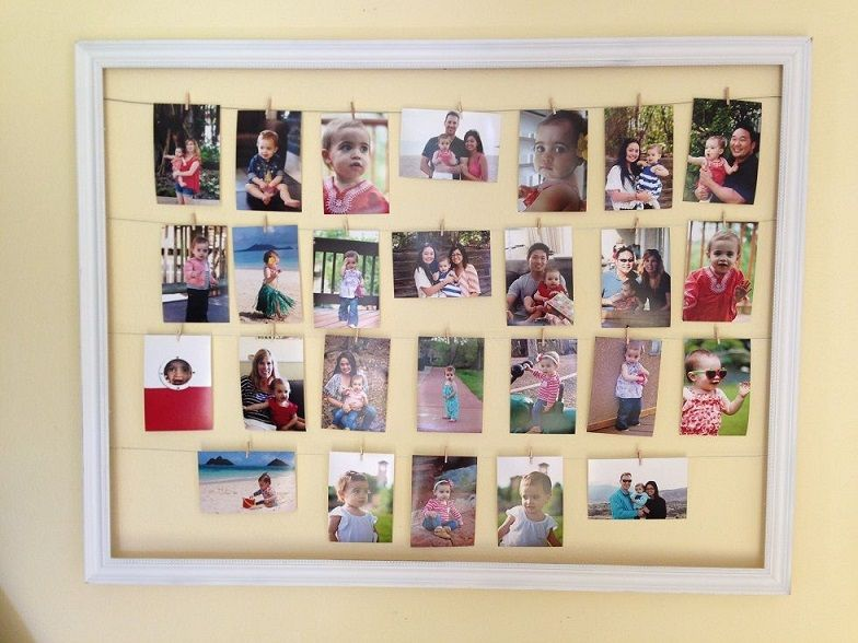 ideas for homemade picture collages - 35 Creative DIY Collage Display Ideas – Page 4
