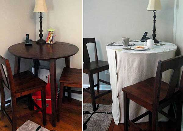 Slipcover for Bistro Table