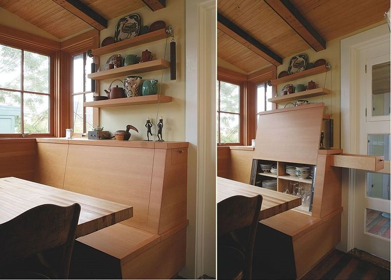 Breakfast Booth, China Cabinet