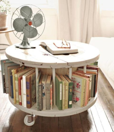 Cable Spool to Library Table