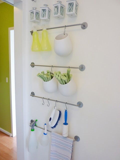 Clever idea for hanging everyday stuff