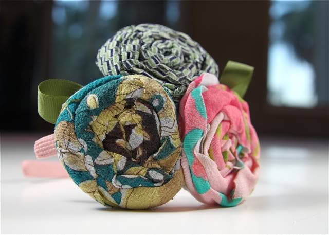No Sew Fabric Flower Headband