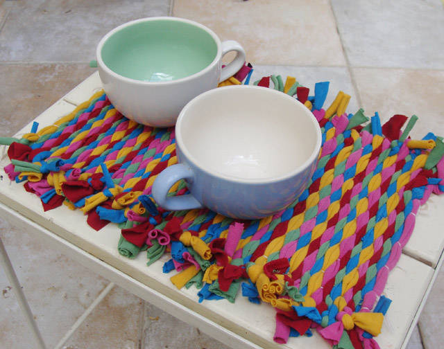 T-Shirt Yarn Placemat