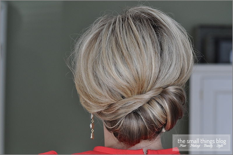 Sideways French Twist