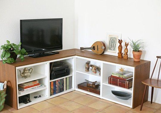 Better than Besta Corner Shelf System