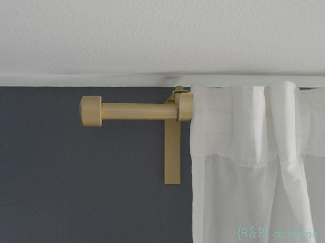 West Elm Inspired Curtain Rod