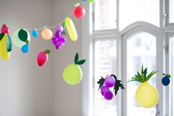 Fruit Balloons Garland