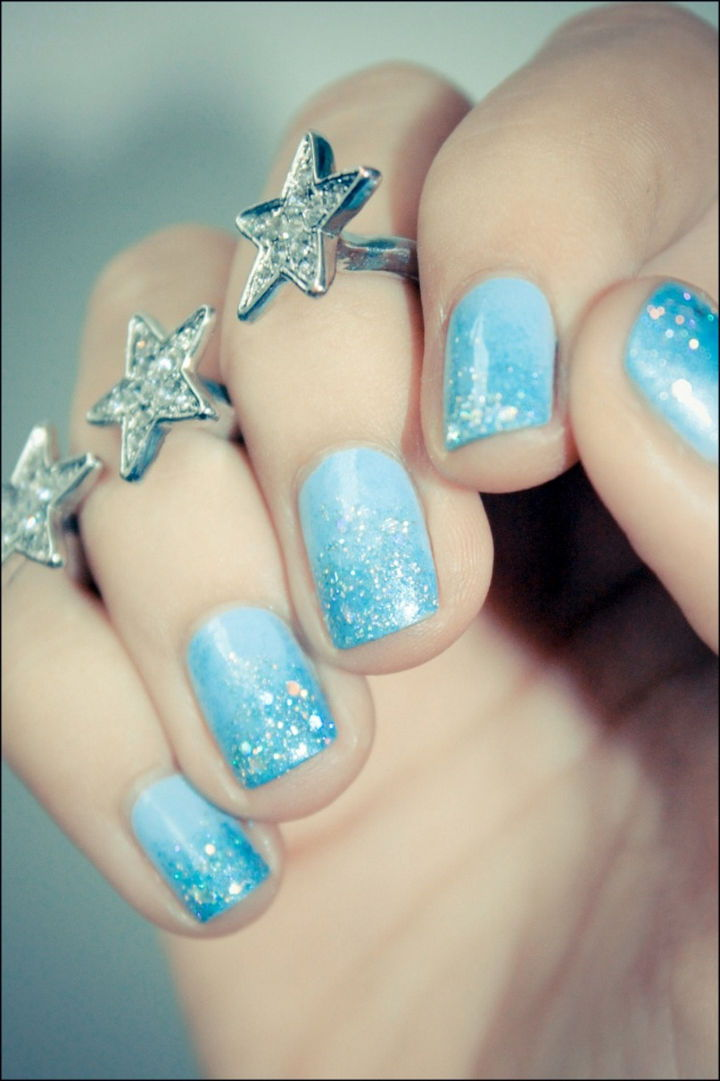 35 Creative Winter Inspired Nail Designs That Are Amazingly Gorgeous