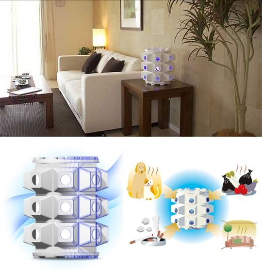 Air Cleaning Lamp