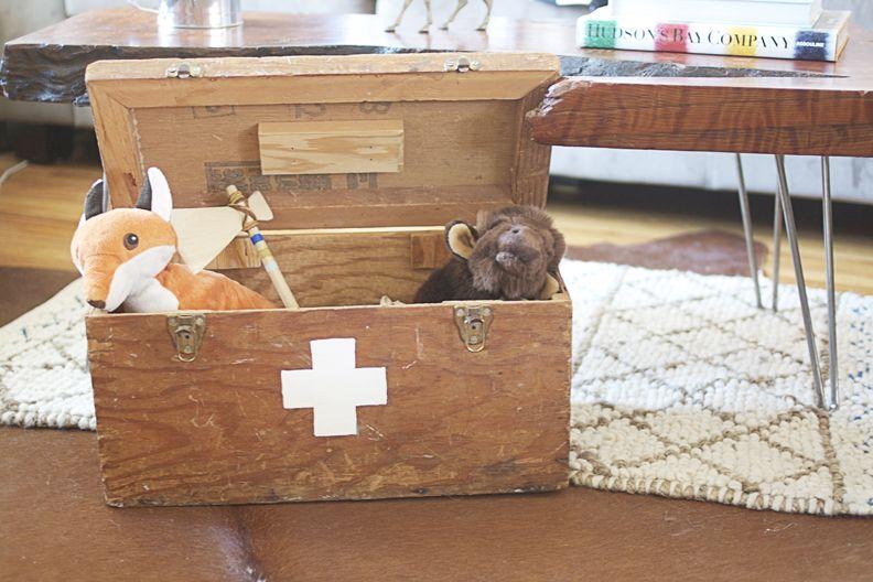 Revamped Vintage Tool Box